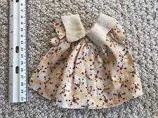 Antique vintage Arranbee R & B Nancy doll tagged original cotton dress