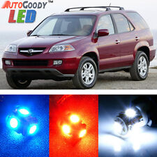 18 x Premium Xenon White LED Lights Interior Package Kit for Acura MDX 2001-2006