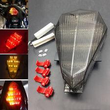 Smoke LED Rear Tail Brake Light Turn Signal For Yamaha YZF R6 2006-2012 07 08 09