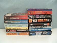 Sci Fi fantasy 14 PB mixed collection book lot Arthur C.  Clark ,Janet Morris L4
