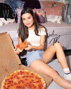 Miranda Cosgrove signed picture sexy iCarly 8X10 photo poster autograph RP