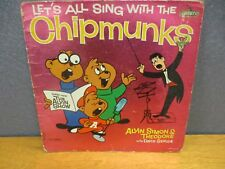 Let's All Sing Along with The Chipmunks, 1959, Capitol Records, Album