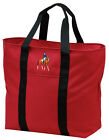 Dressage Embroidered All Purpose Tote