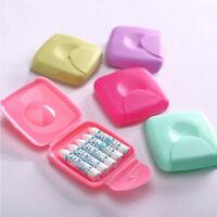 Portable Women Sanitary Napkin Tampons Storage Box Holder Container Travel  Case