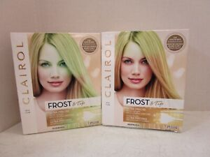 2 CLAIROL FROST & TIP ULTRA PRECISE LIGHT BLONDE TO MEDIUM BROWN (READ) MM 20994