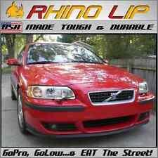 Volvo Universal Front Bumper Rubber Flex Chin Lip Splitter Spoiler Chin Lip Trim Fits Saturn Aura