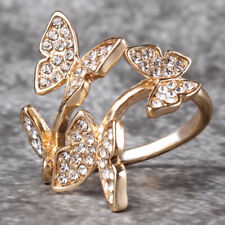 Party Opening Rings Rose Gold New Statement Personality 1pc Jewelry For Woman