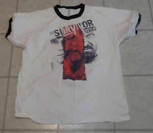 2012 WWF WWE XXL 2XL Survivor Series Wrestling PPV T Shirt Indianapolis Shield