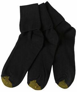 Gold Toe Womens 3-pk. Turned Cuff Socks