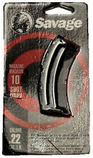 Savage 20005 Factory mag for MKII, 300,501,504,900  22 LR & 17 mach 2 10 rd