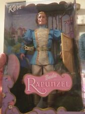 New listing Collectible Ken Doll as Talking Prince of Rapunzel Original Unopened Box
