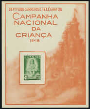 Brazil 682 Souvenir Card MNH Child, National education Campaign