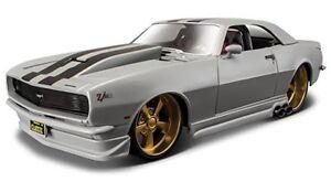 Maisto 1:24 1968 Chevy Chevrolet Camaro Z28 Diecast Model Racing Car New In Box