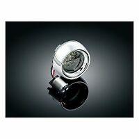 Kuryakyn Dual Front LED Bullet Indicator Trim/Lens Harley-Davidson 02-17 4825
