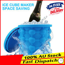 Revolutionary Drink Holder Silicone Saving Ice Genie Space Cube Maker Bucket