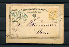 """Österreich - """"Mähr. Rothwasser"""" auf Ganzsache  1875   (#471)"""