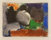 Original Abstract Modern Expressionist Mini Acrylic Painting By Noah Davis