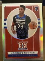 2019-20 Chronicles Jarrett Culver SSP RC Hometown Heroes Chrome Prizm🏀TWolves