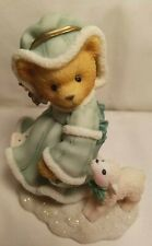 Cherished Teddies Bear Figurine Felicia Joy To The World Limited Edition Snow