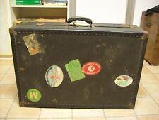 Valigia baule da viaggio d'epoca anni 40 -50.