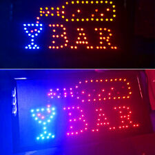 Led Restaurant Cafe Bar Club Sign+On/Off Switch Open Light Neon Party