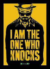 Breaking Bad (I Am The One Who Knocks) Image Postcard 10cm x 15cm Official Licen