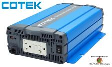 Cotek SP700-212 700 Watt 12 Volt  Pure Sine Wave Inverter EN Certified