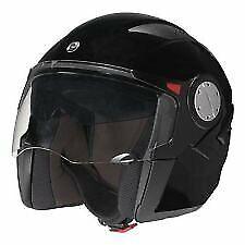 BRP ST-1 Hybrid Open Face Helmet Black Size(Xl) In Stock Ships Today!