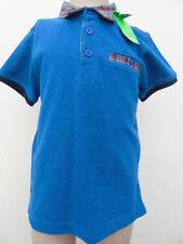 Boys' check collar Short Sleeve sleeves T-Shirts, Tops & Shirts (2-16 Years)
