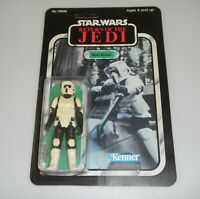 *RECARDED* Star Wars ROTJ Biker Scout Figure Complete Sealed *CUSTOM Card Back*