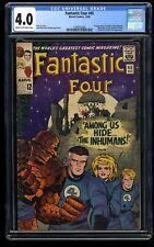 Fantastic Four #45 CGC VG 4.0 Cream To Off White 1st Inhumans! Marvel Comics
