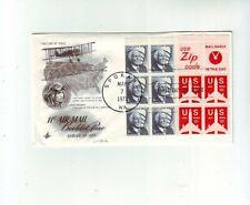 USA FDC Cover Bookleet Pane #45 and #49 7.5.1971.