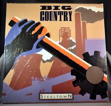 "Big COUNTRY Steeltown Orig.1984 12"" UK VINYL Record MERH 49 New Mint no splits"
