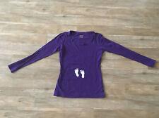 Umstandskleidung Shirt Schwangerschaft M lila