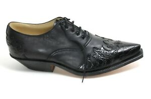 604 Westernstiefelette Cowboystiefel Dance Catalan Style Leder Boots Vidal 42