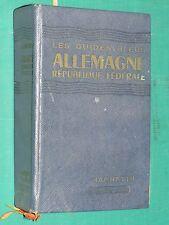 Guide bleu Allemagne Fédérale 1959