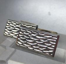 Art Deco Manschetten- Knöpfe, Silber 835, 30er Jahre
