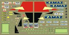 "1/43 Decals KAMAZ - 4310 # 502 Rally ""DAKAR """