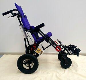 Convaid Scout Rehab Stroller - Knobby Wheels & Attendant Control Disc Brake