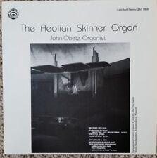 JOHN OBETZ THE AEOLIAN SKINNER ORGAN Vynil, Record Album LP