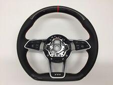 Carbone Cuir-Volant Convient pour Audi TTS FV 8 S Ttrs (14+)