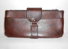 1970s Amity Leather Business Wallet Banking Satchel