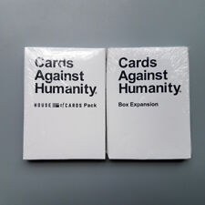 2Pcs (HOUSE of CARDS Pack&Box Expansion)Cards Against Booster Expansion Pack