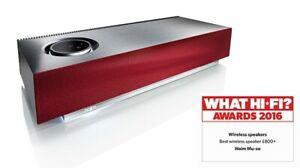 Naim MU-SO 450 Watt Wireless Reference Music System *Mint* (Black/Silver + Red)