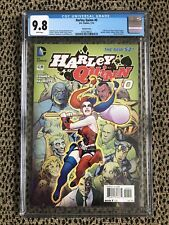 CGC 9.8 NEW 52 DC Harley Quinn #0 1:25 STEPHENE ROUX Variant