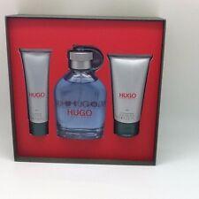 HUGO by Hugo Boss Man 4.2 oz EDT cologne spray+ 2.5 after shave+ 1.6 gel SET NIB