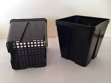 10 Deep Square Pots from Bamaplast 12x12x13    1.7 litre pot