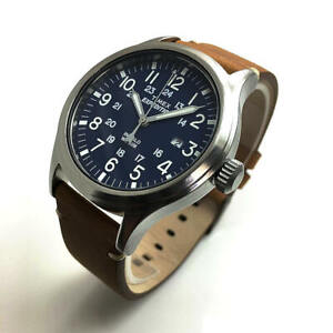 Men's Timex Expedition Scout Leather Strap Watch TW4B01800 TW4B01800JT