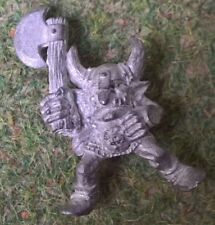 Warhammer - Orc and Goblin - METAL - Goblin Wolf Rider (REF 1) - Exc Free Post!