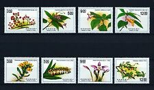 Taiwan 1991 Flowers 2 complete sets MNH